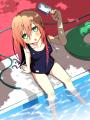 プールサイドの少女/小鳥遊ソラ