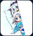 15'雪ミクちゃん決定を見守る雪ミクちゃん