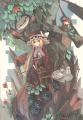 魔女と妖精と赤い花の木/サファイアほたるいか
