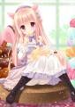 ピンク髪ロリには白タイツがよく似合う。/羽純りお@コミスペC-02b