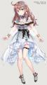 白いドレスの女の子【愛結りほさん】
